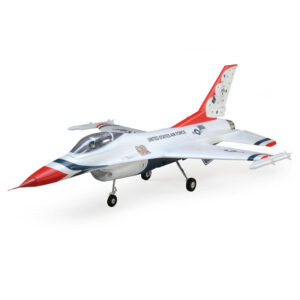 F-16 Thunderbirds 70mm EDF Jet BNF Basic with AS3X and SAFE Select, 815mm